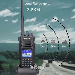 GPS Ailunce HD1 UHF/VHF Walkie Talkie DMR Portable Ham Two Way Radio High Power