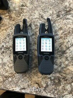 Garmin Rino 520 & 530 HcX- 2 Way Radio GPS 2 units with accessories