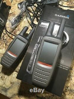 Garmin Rino 650 GPS Two Way Radio, s. Yes, two of them! Use for hunting or other