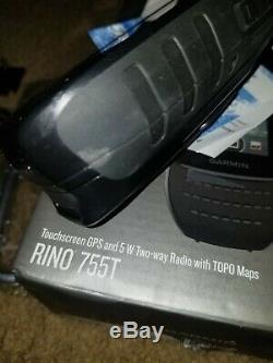 Garmin Rino 755t 010-01958-15 2 Way Radio GPS