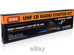 Genuine Gme Uhf Two Way Cb Radio Starter Kit