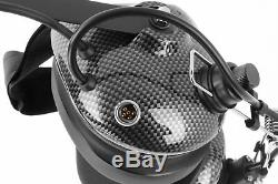 H41 Behind The Head Racing Two Way Radio Headset Off Road Nexus Coil Cord Cable