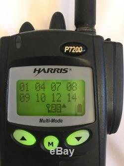 HARRIS P7200 Radio ECP P25 Conv EDACS OpenSky ProVoice R06D13 firmware+features