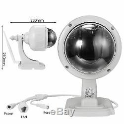 HD 1080P Onvif WiFi Wireless Dome Security IP Camera Night Vision Two Way Audio