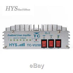 HYS 140-150/440-450MHz VHF UHF Dual Band Portable Two Way Radio Power Amplifier