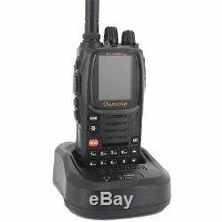 Ham Two Way Radio Walkie Talkie Wouxun KG-UV9D plus Dual Band with headset cable