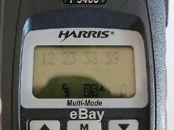 Harris M/A Com P5400 VHF P25 Digital Portable radio with trunking option XG