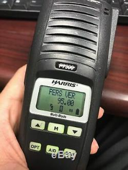 Harris P7300 Hand Held Radio With Charger, battery And Antenna