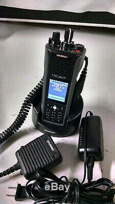 Harris UNITY XG-100P Tri-Band PORTABLE RADIO FULL SPECTRUM WITH CHARGER