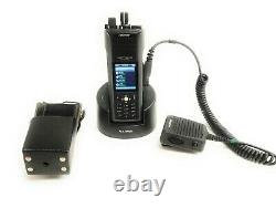 Harris Unity XG-100P Multi-Band Portable Radio Full Spectrum with Holster, Charger