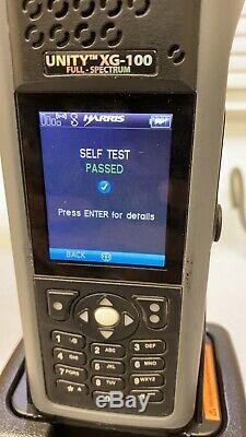 Harris Unity xg-100 Full Spectrum Without Battery Without Charger Untest