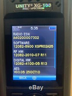Harris XG-100P VHF/UHF/700/800 AES & DES
