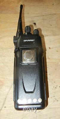 Harris XG-75 Portable Radio P25 Phase1 Trunking XG-75P VERY GOOD FEATURE 39