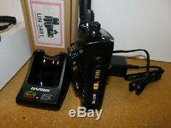 Harris XL-200P All Band P25 Digital Trunking Portable Radio VHF UHF 700/800/900