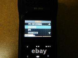 Harris XL-200P All Band VHF UHF 700/800mhz P25 Digital Portable radio