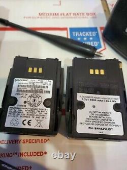 Harris XL-200P Portable Radio USED Dual Band VHF/UHF 136-174/ 378-522 MHz P25