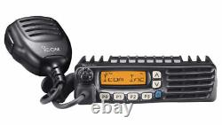ICOM F6021 UHF 400-470 MHz 70cm Two Way Radio with Programming Software & Cable