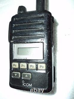 Icom F50V VHF portable radio 100% TESTED FREE PROGRAMMING narrow fire pager MURS