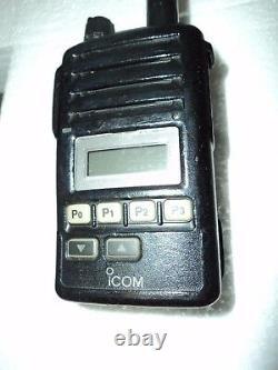 Icom F50V VHF portable radio 100% TESTED WORKING RADIO narrow fire pager MURS