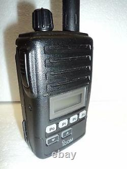 Icom F50V VHF portable radio TESTED 100% WORKING narrowband fire pager police