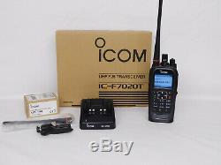 Icom F7020T-21 UHF 380-470mhz P25 Digital Portable radio with FPP AES/DES APX6000