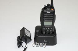 Icom IC-F80T (25) F80T UHF 400-470 Mhz 256 Channels 4W Full Keypad MDC