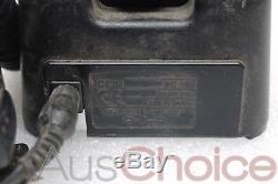 Icom IP67 Handheld Two Way UHF Radio with Desk Charger & Handheld Speaker