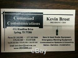 KENWOOD TK-2180 VHF 136-174Mhz WIDE/NARROW RADIO -PUBLIC SAFETY- MINITOR V VI