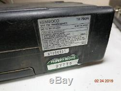 KENWOOD TK-790H TK790 VHF 100 watt Mobile Rear remote Mount radio XTRAS C-TOP