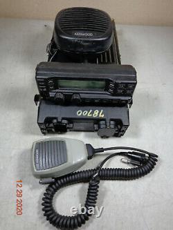 KENWOOD TK-890H TK890 TK890H UHF 100 watt Mobile Rear remote Mount radio XTRAS