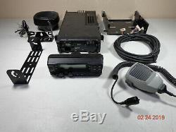KENWOOD TK-890H TK890 UHF 80 watt Mobile Rear remote Mount radio XTRAS C-TOP