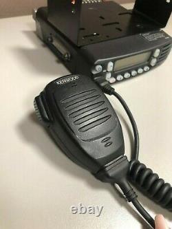 Kenwood TK-8180-K UHF (450-520 Mhz), Mobile Radio with Mic and Mounting Bracket