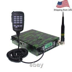 LEIXEN VV-898SP 12000mAh Battery Two Way Radio VHF/UHF Dual band Car Transceiver