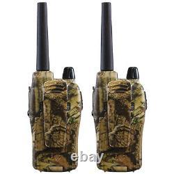 Long Range Walkie Talkie 36 Mile Two Way Radio Charge Headset Waterproof Camo