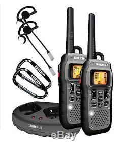 Long Range Walkie Talkie Radio 50 Mile 2 Two Way Hunting Travel Submersible CB S