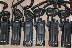 Lot of 6 Motorola XTS3000 UHF 403-470mhz 255ch with encryption and options
