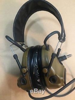 M3 Peltor ComTac III 88078-00000, Two way Radio Headset, withGel Ears, 093045-93411