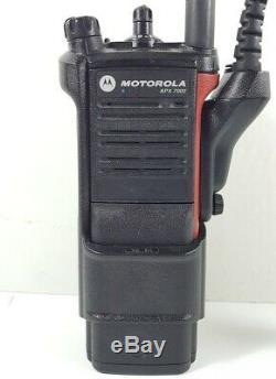 MOTOROLA APX7000 3.5 700/800 VHF 136-174 MHz P25 TDMA Digital Radio H97TGD9PW1AN