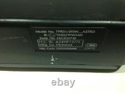 MOTOROLA ASTRO SPECTRA VHF 110 Watts 128 Ch 146-174 Mhz W5 With REPEATER VRS HAM