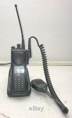 MOTOROLA Digital Radio H09UCH9PW7BN Handie Talkie FM XTS3000 XTS 3000 + Extras