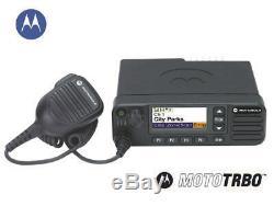 MOTOROLA MOTOTRBO XPR 5550e VHF 136-174 MHz, DIGITAL TWO-WAY MOBILE RADIO