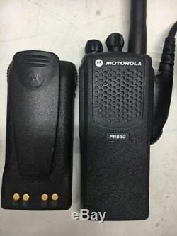 MOTOROLA PR860 LOW BAND 29-42MHz 16 CHANNEL TWO WAY RADIO AAH45BEC9AA3AN CP HT