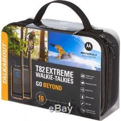 MOTOROLA Talkabout T82 Extreme Walkie Talkie, Two-way Consumer Radio