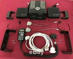 MOTOROLA XTL5000 W3 VHF/UHF/700/800/900Mhz P25 DUAL BAND TRUNKING MOBILE APX7500