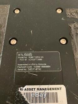 MOTOROLA XTL5000 XTL-5000 VHF TWO WAY MOBILE RADIO APX P25 DIGITAL 136-174mhz