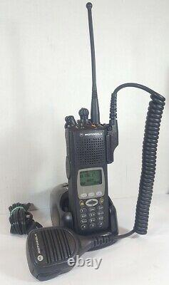MOTOROLA XTS5000 III 700 800 MHz P25 Digital Trunking Two-Way Radio H18UCH9PW7AN