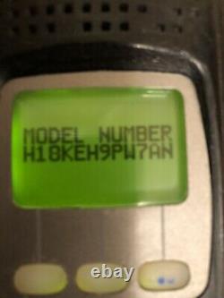 MOTOROLA XTS5000 M3 VHF 136-174Mhz H18KEH9PW7AN FRONT PANEL PROGRAMMING