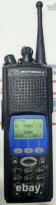 MOTOROLA XTS5000 Model III 700-800 Mhz P25 Police. Fire. EMS. Radio H18UCH9PW7AN