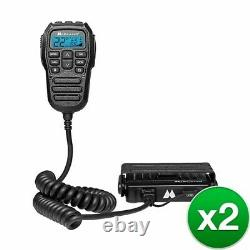 Midland Authorized Reseller MXT275 MicroMobile GMRS Two Way Radio (2 Pack)