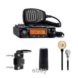 Midland Authorized Reseller MXT400VP3, 6db, 40W Two Way Radio Bundle
